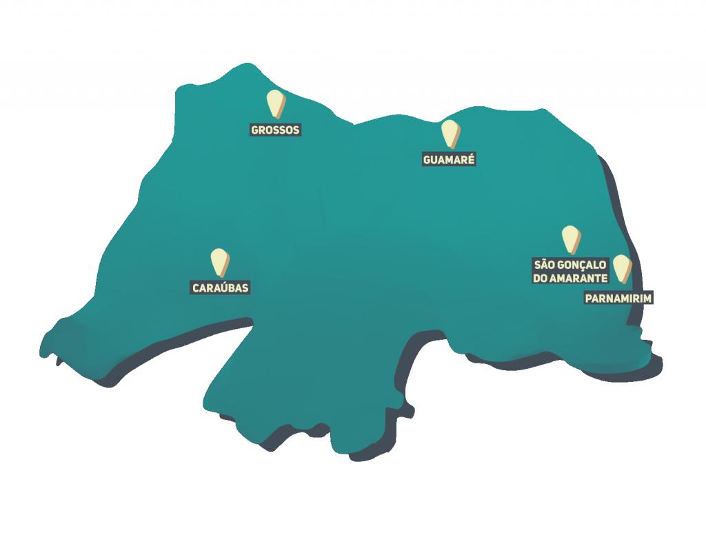 Mapa do RN