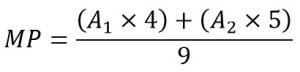 Fórmula da Média