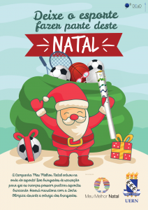Meu Melhor Natal 2016 - Cartaz A3