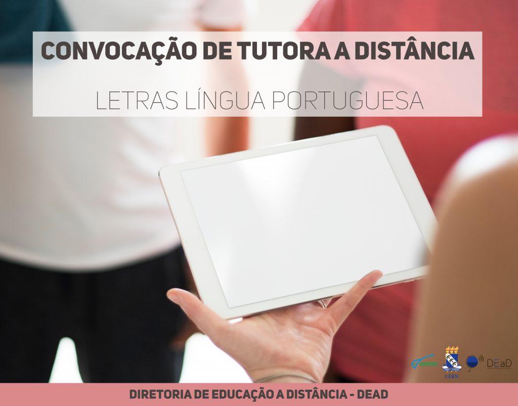 convocação tutora letras