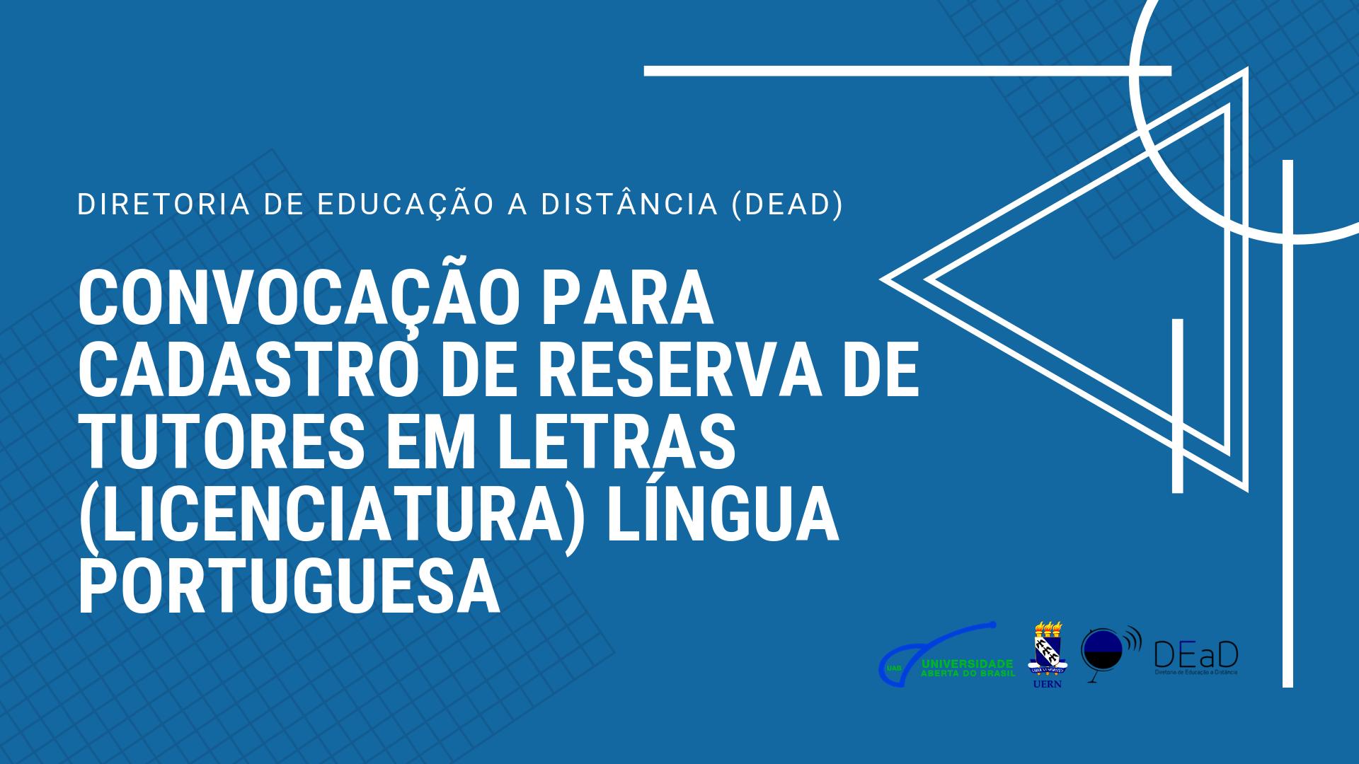 DIRETORIA DE EDUCAÇÃO A DISTÂNCIA (DEad)
